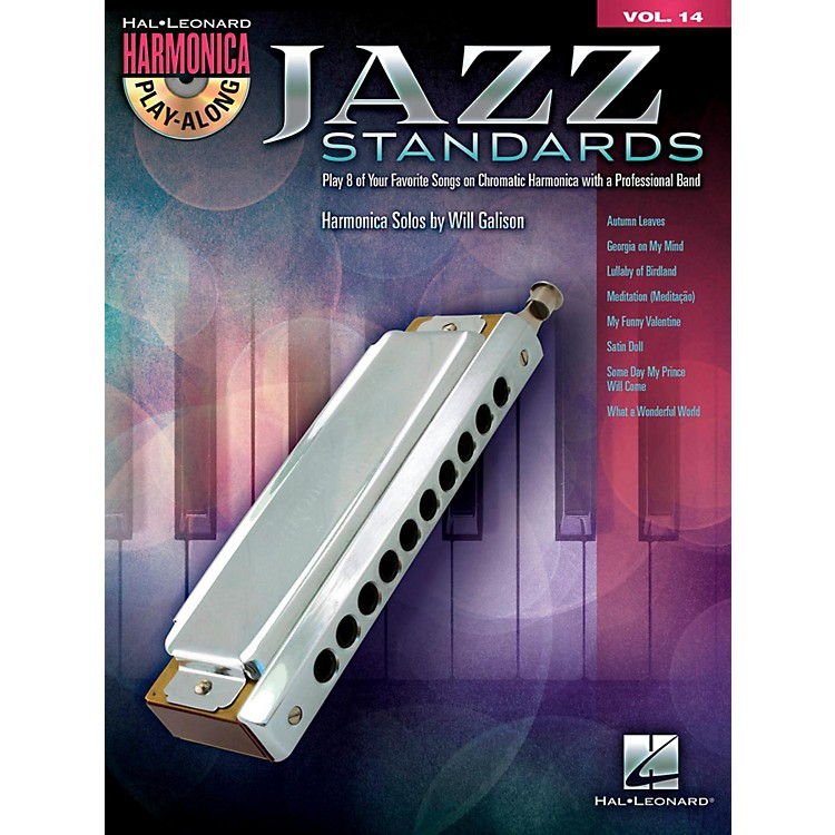 Hal LeonardJazz Standards - Harmonica Play-Along Volume 14 Book/CD (Chromatic Harmonica)