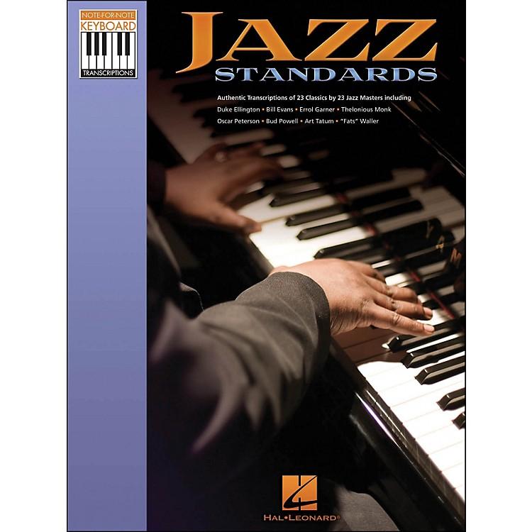 Hal LeonardJazz Standards Note for Note Piano Transcriptions
