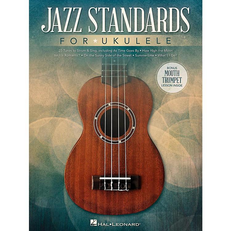 Hal LeonardJazz Standards for Ukulele (Includes Bonus Mouth Trumpet Lesson!)