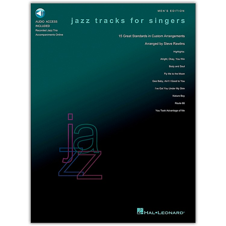 Hal Leonard Jazz Tracks for Singers - Men's Edition Book/CD