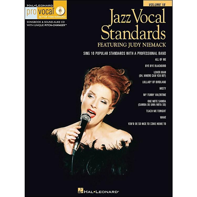 Hal LeonardJazz Vocal Standards - Pro Vocal Series Featuring Judy Niemack Volume 18 Book/CD