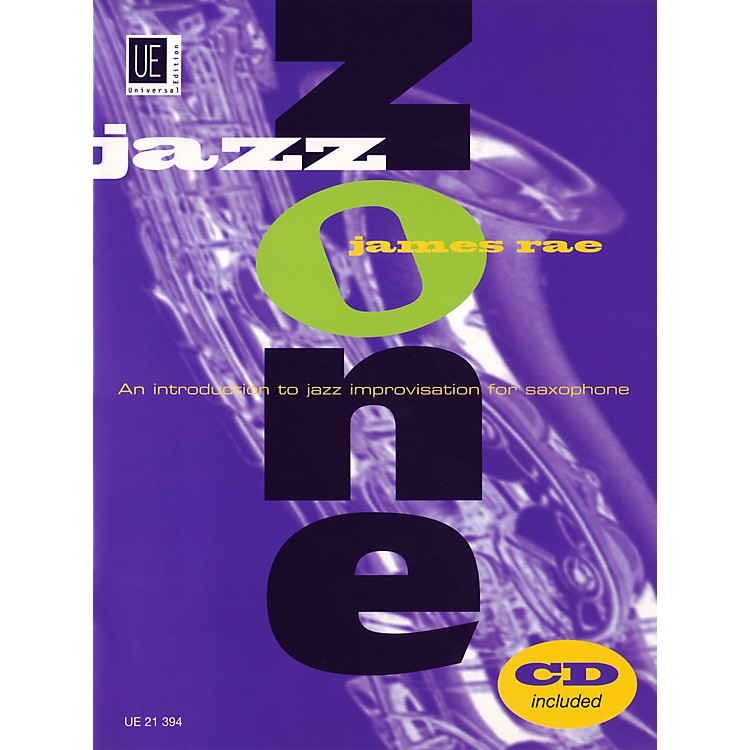 Theodore Presser Jazz Zone - Saxophone (Book/CD)