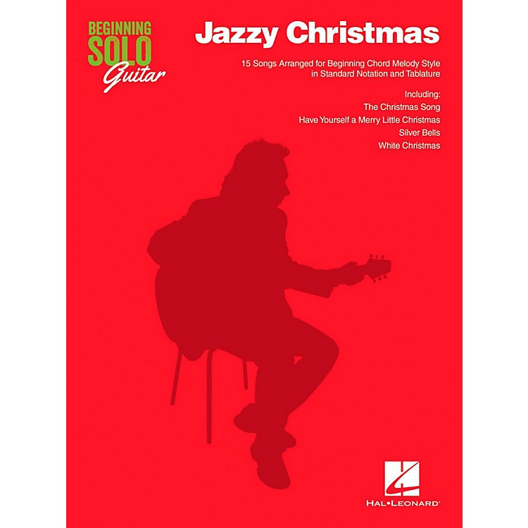 Hal LeonardJazzy Christmas - Beginning Solo Guitar