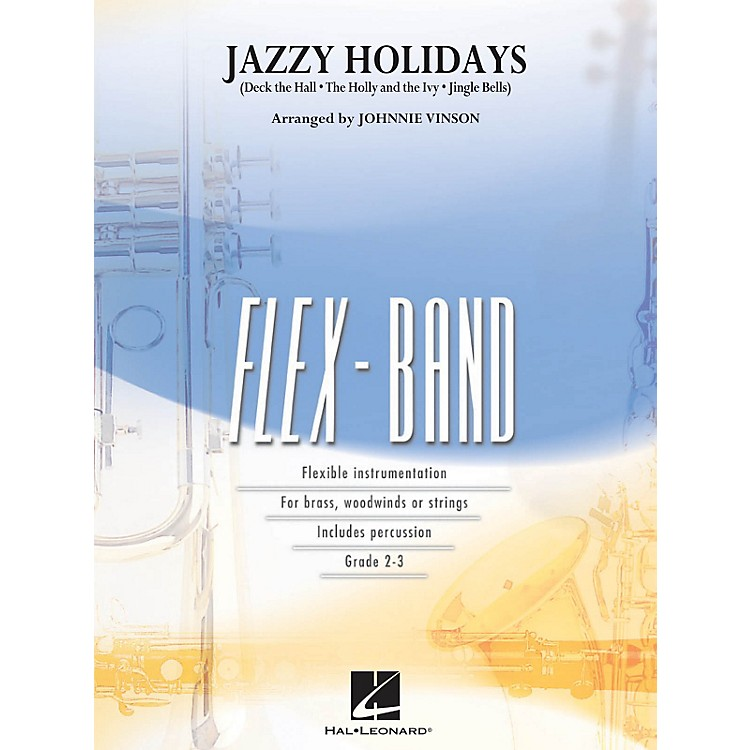 Hal Leonard Jazzy Holidays - Flex-Band Series
