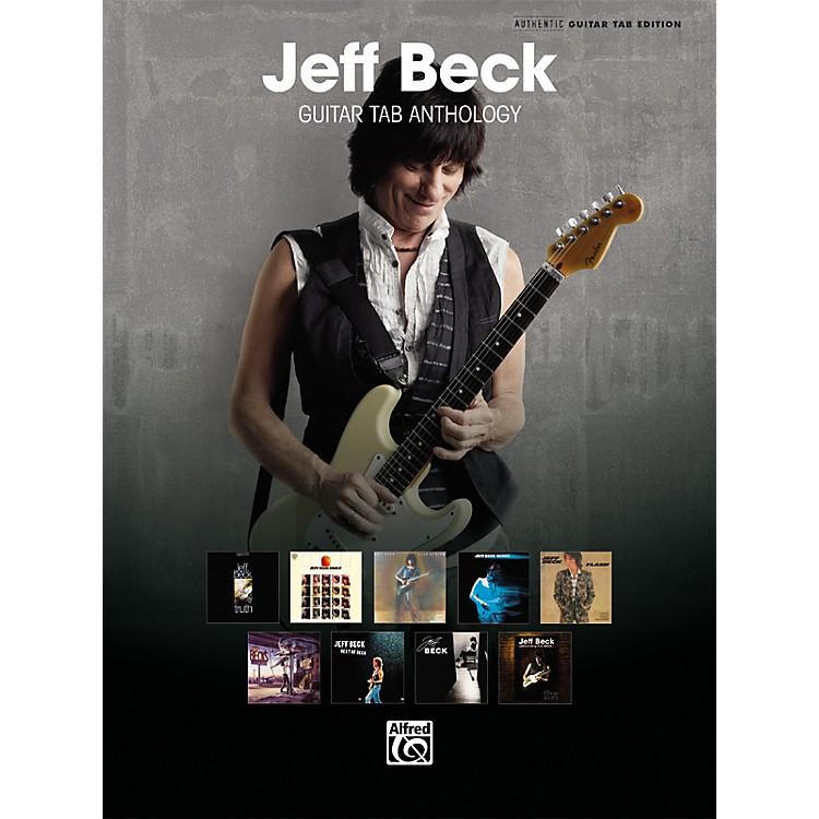 AlfredJeff Beck Guitar TAB Anthology