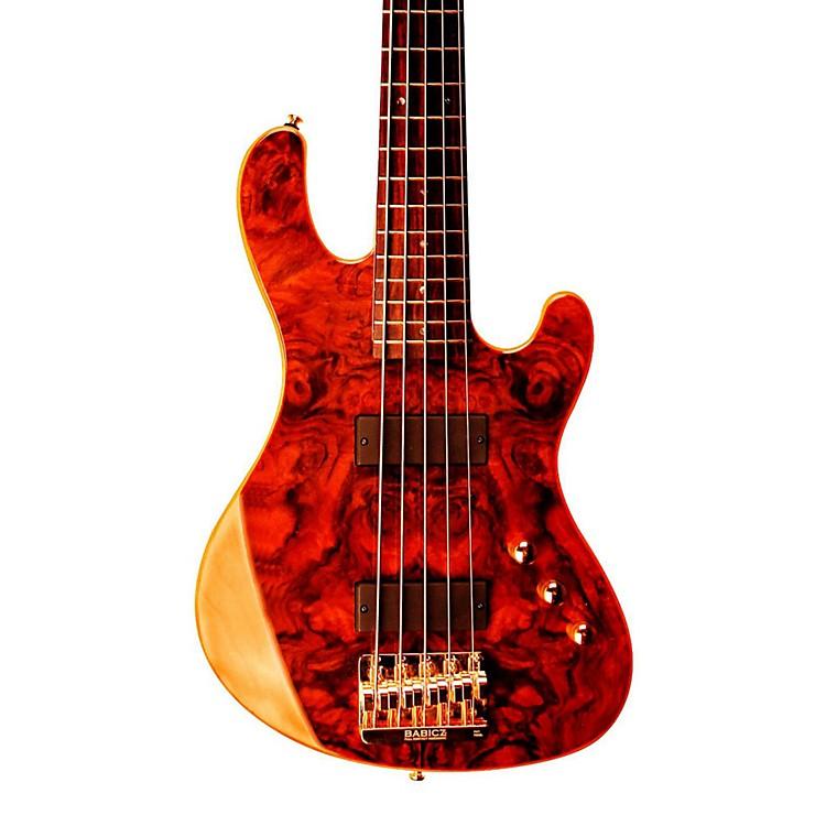 CortJeff Berlin Series Rithimic V Bass GuitarGloss NaturalRosewood