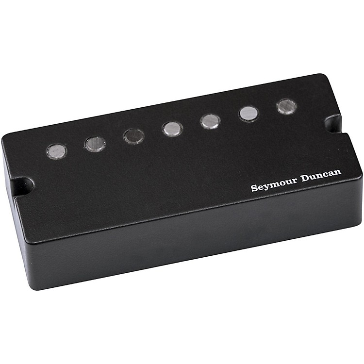 Seymour Duncan Jeff Loomis Blackouts 7-string Neck Humbucker Guitar Pickup Active Mount Black Neck