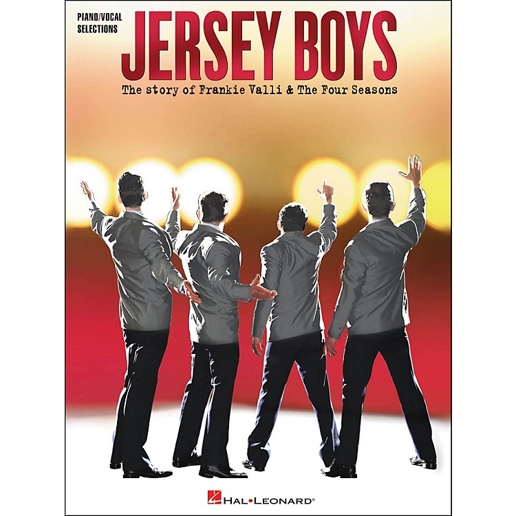 Hal LeonardJersey Boys - The Story Of Frankie Valli & The Four Seasons arranged for piano, vocal, and guitar (P/V/G)