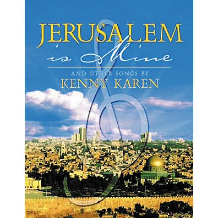 Tara Publications Jerusalem Is Mine and Other Songs Book