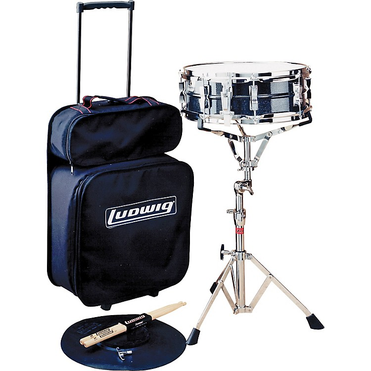 Ludwig Jet Pak Snare Drum Kit Concert Drums Le2472R (Same As Picture But With Rolling Bag)