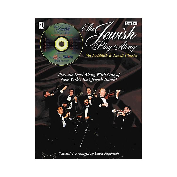 Tara PublicationsJewish Play-Along Volume 1 Bass Clef Instruments (Book/CD)