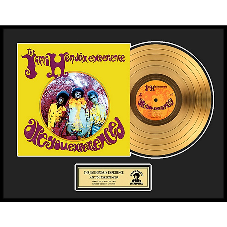 24 Kt. Gold RecordsJimi Hendrix - Are You Experienced Gold LP Limited Edition of 2500