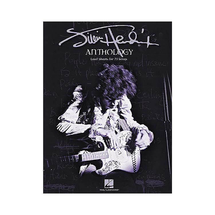 Hal LeonardJimi Hendrix Anthology Guitar Chord Songbook