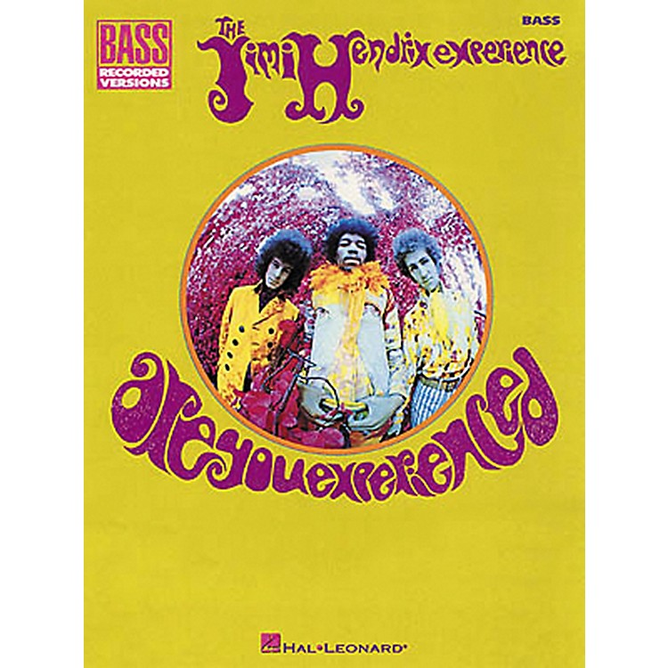 Hal LeonardJimi Hendrix Are You Experienced Bass Guitar Tab Songbook