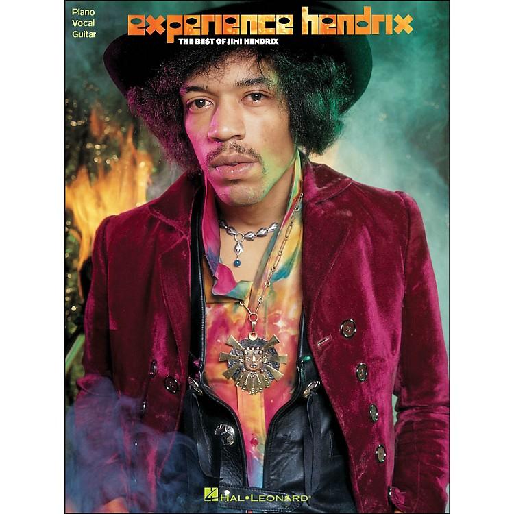 Hal LeonardJimi Hendrix Experience Hendrix: The Best Of Jimi Hendrix arranged for piano, vocal, and guitar (P/V/G)