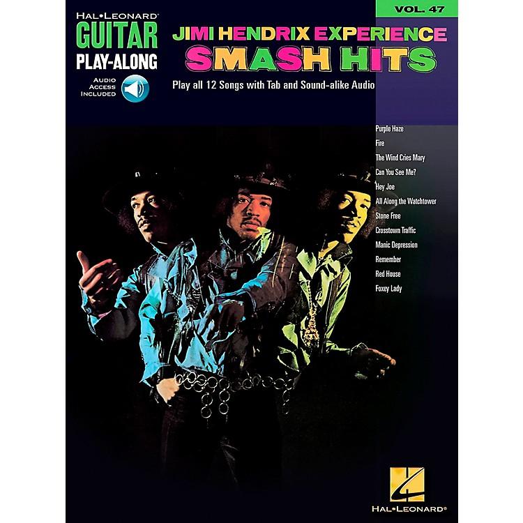 Hal LeonardJimi Hendrix Experience Smash Hits Play-Along Guitar Tab Songbook with CD