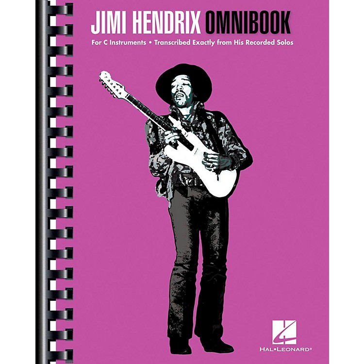 Hal LeonardJimi Hendrix Omnibook for C Instruments