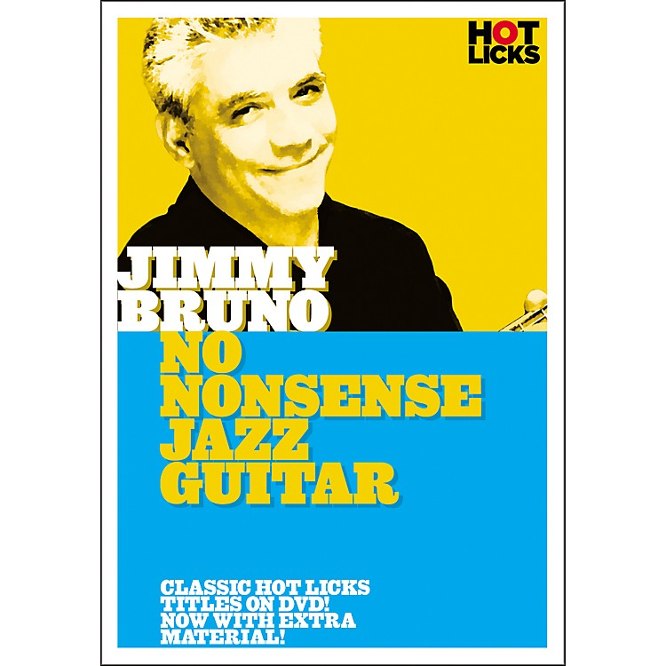 Hot LicksJimmy Bruno: No Nonsense Jazz Guitar DVD