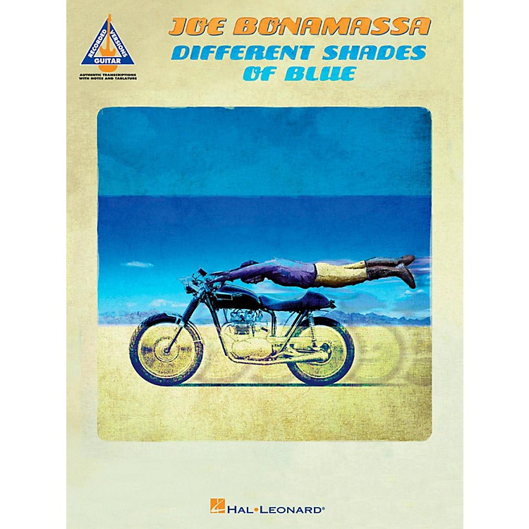 Hal LeonardJoe Bonamassa - Different Shades Of Blue Tab songbook