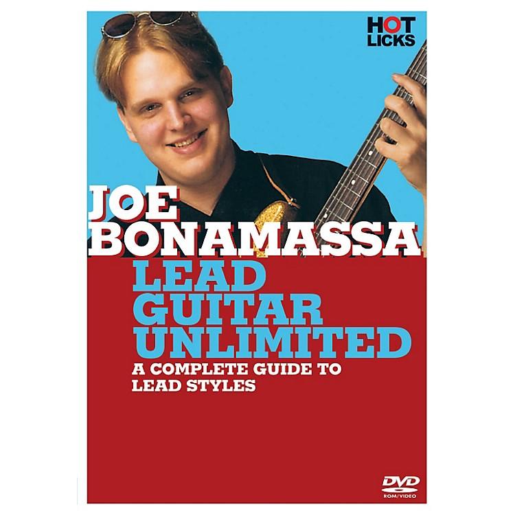 Hal LeonardJoe Bonamassa - Lead Guitar Unlimited DVD Hot Licks
