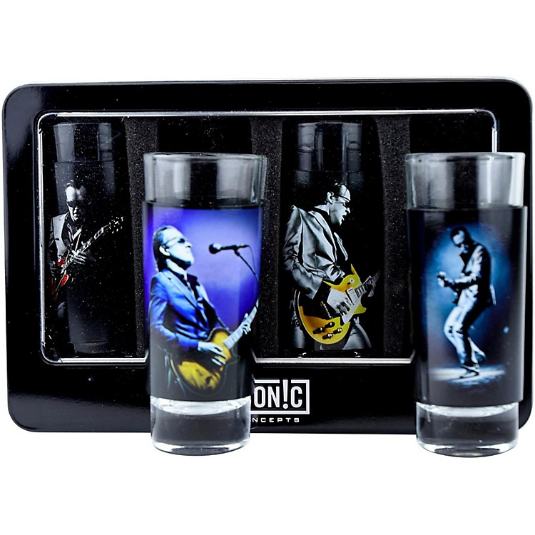 Axe HeavenJoe Bonamassa 4-Piece Shot Glass Set - Lithos Collection 1 & 2