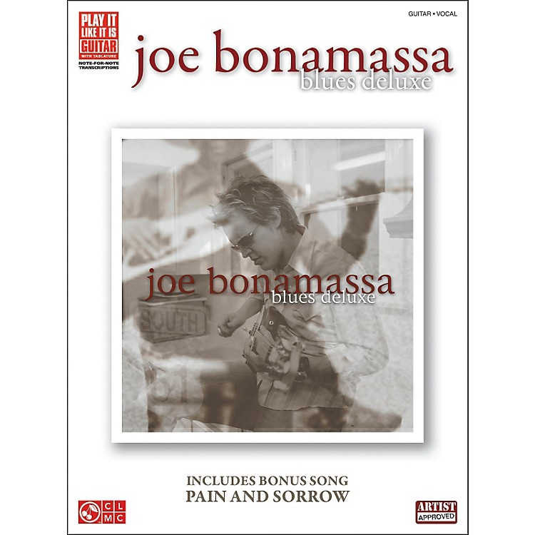 Hal Leonard Joe Bonamassa: Blues Deluxe Guitar Tab (Book)