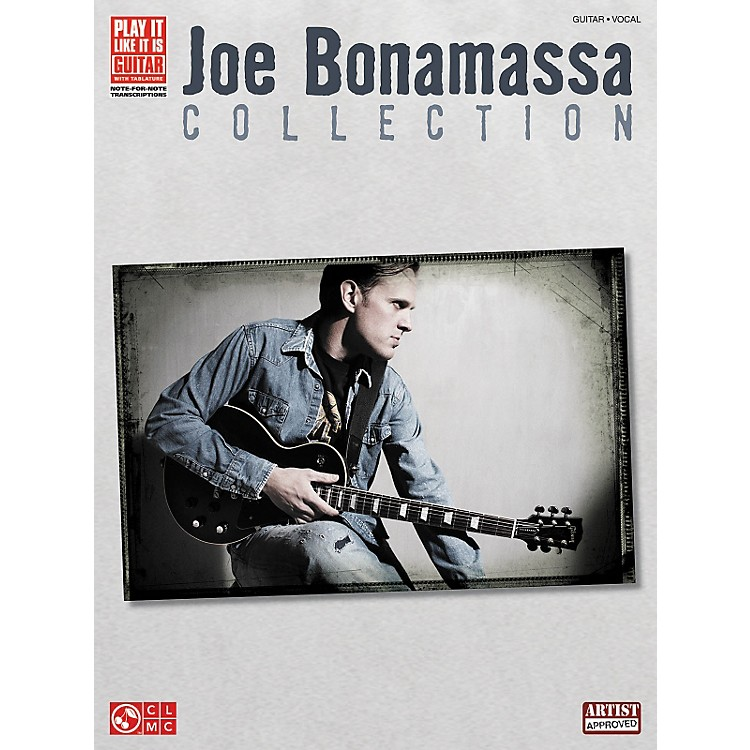 Hal Leonard Joe Bonamassa Collection Guitar Tab Songbook