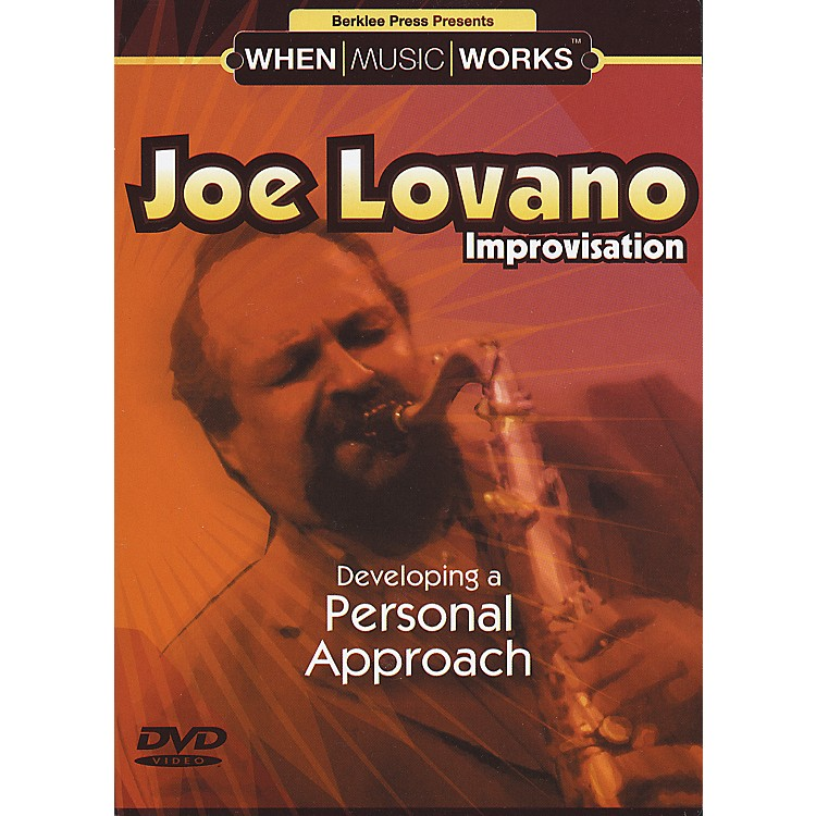 Berklee Press Joe Lovano Improvisation Saxophone (DVD)