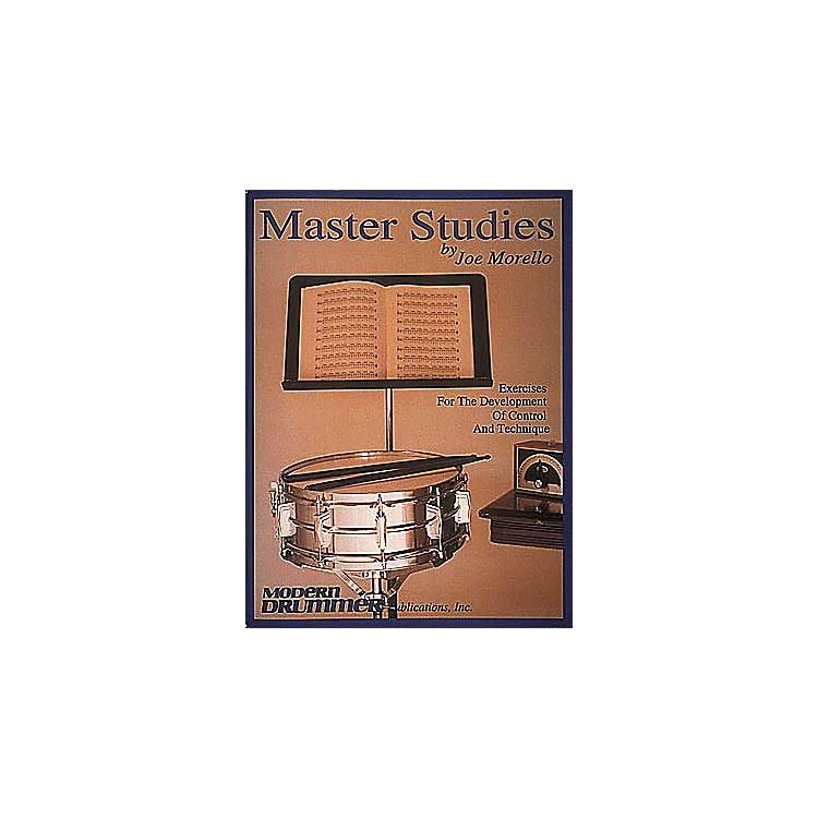 Hal LeonardJoe Morello - Master Studies Book