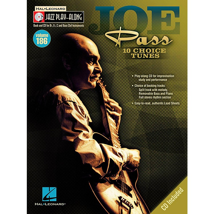 Hal LeonardJoe Pass - Jazz Play-Along Volume 186 Book/CD