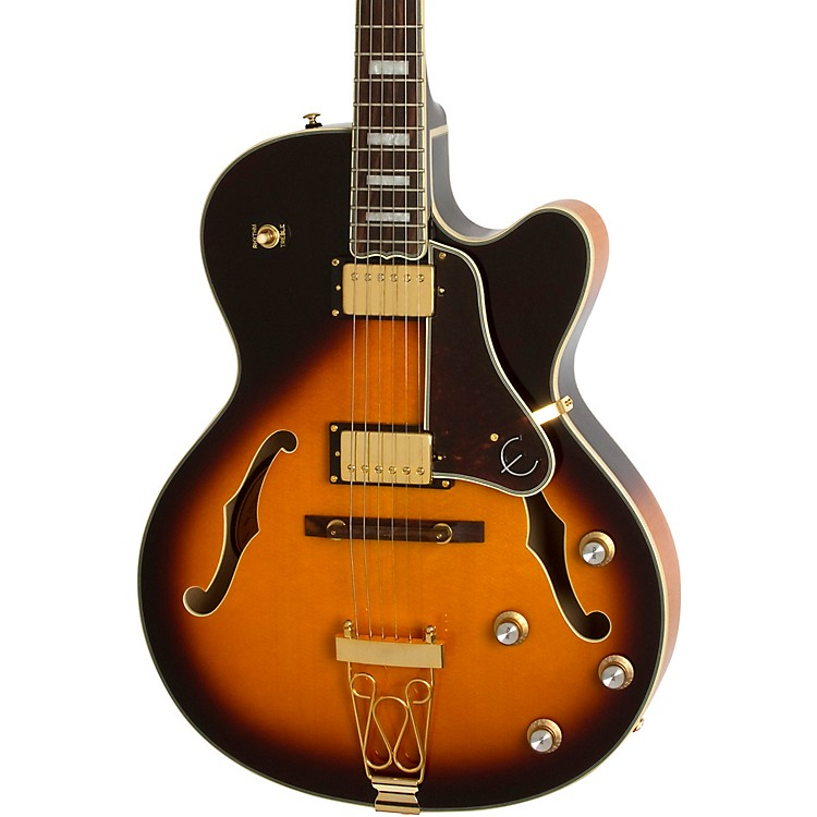 Epiphone Joe Pass Emperor II Electric Guitar Vintage Sunburst