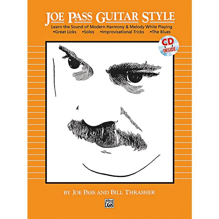 AlfredJoe Pass Guitar Style Book & CD