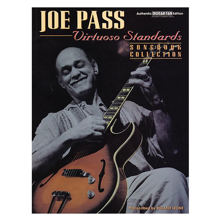 AlfredJoe Pass Virtuoso Standards Guitar Tab Book