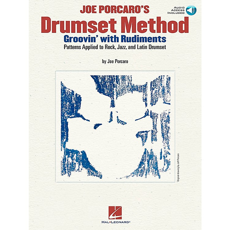 Hal Leonard Joe Porcaro's Drumset Method - Groovin' With The Rudiments (Book/CD)