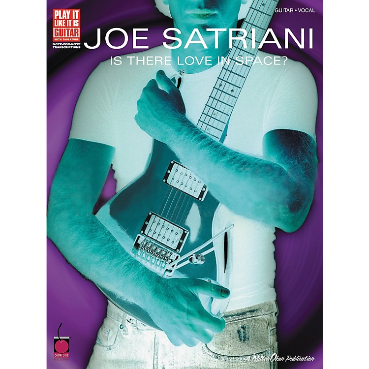 Cherry LaneJoe Satriani Is There Love in Space? Guitar Tab Songbook