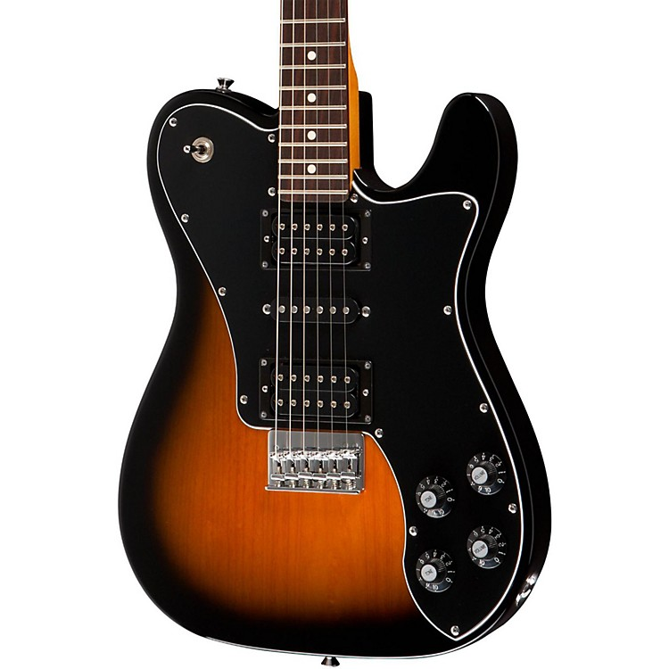 Squier Joe Trohman Telecaster Electric Guitar 2 Color Sunburst