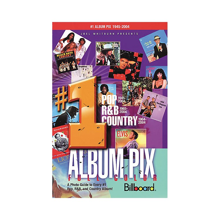 Record Research Joel Whitburn Presents #1 Album Pix Book