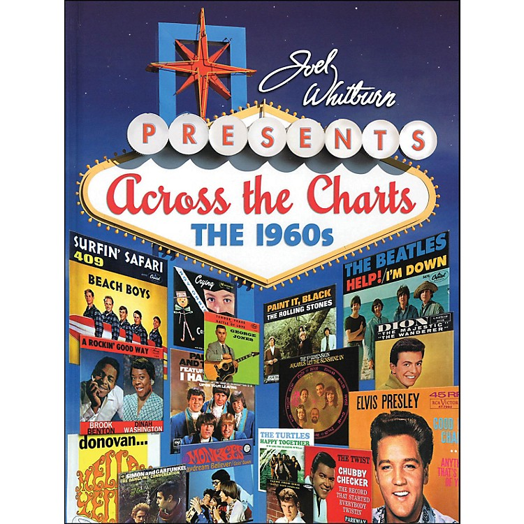 Hal Leonard Joel Whitburn Presents Across The Charts The 1960's