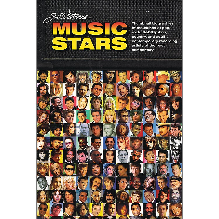 Hal LeonardJoel Whitburn Presents Music Stars - Brief Bios Of Every Recording Artist Whoever Charted