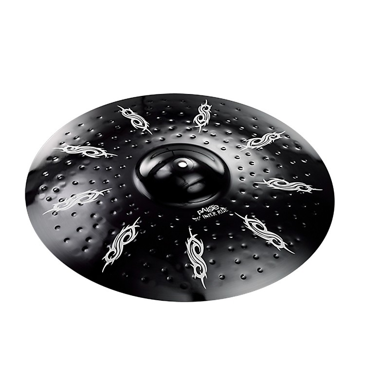 Paiste Joey Jordison Signature Series Alpha Hyper Ride Black 20 Inch