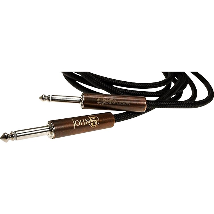 DiMarzioJohn 5 Signature Instrument CableBlack18 Foot