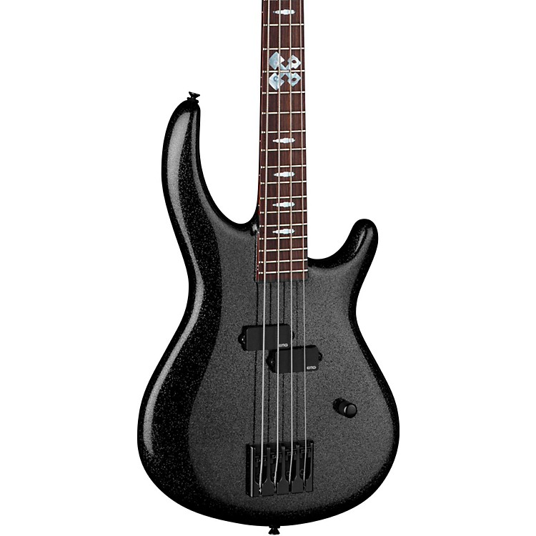 Dean John Campbell Edge Pro Electric Bass Guitar Black Sparkle