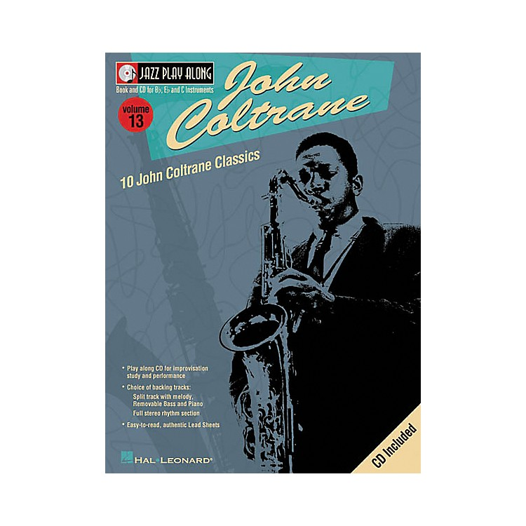 Hal Leonard John Coltrane - Jazz Play Along Volume 13 Book with CD