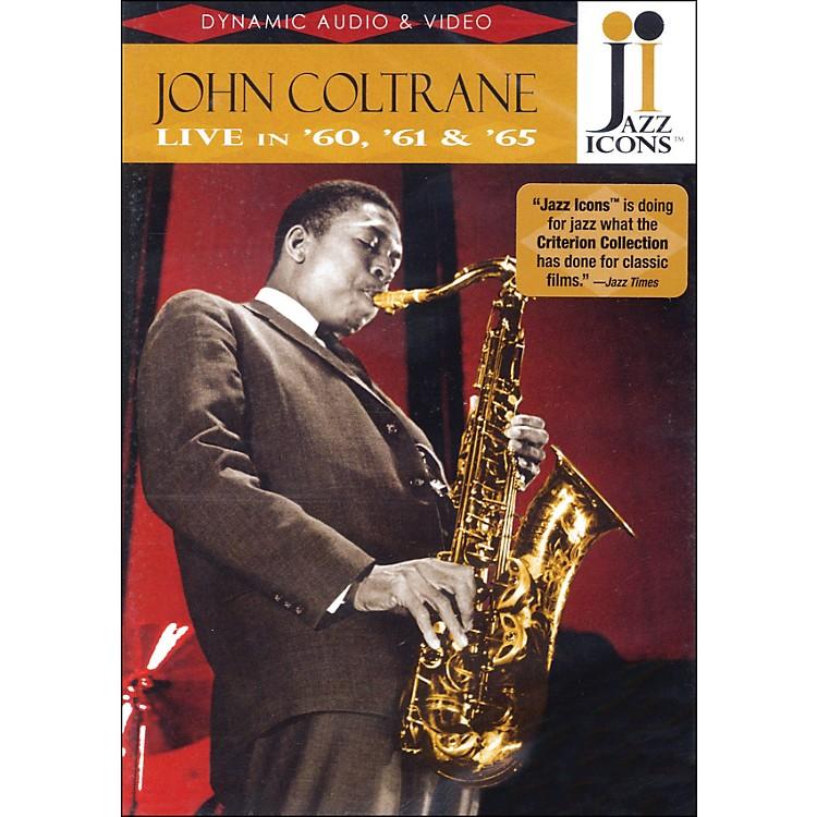 Hal LeonardJohn Coltrane - Live In '60, '61 And '65 - Jazz Icons DVD