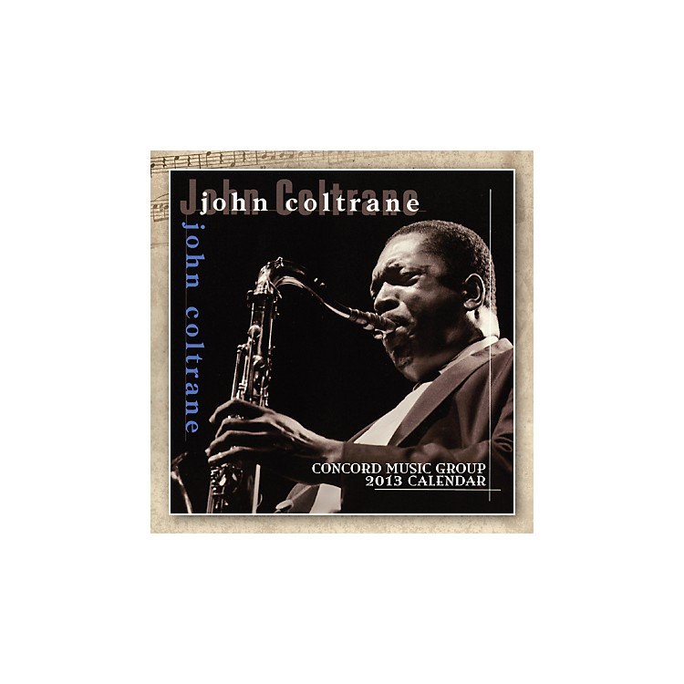 Browntrout Publishing John Coltrane 2013 Square 12x12 Wall Calendar