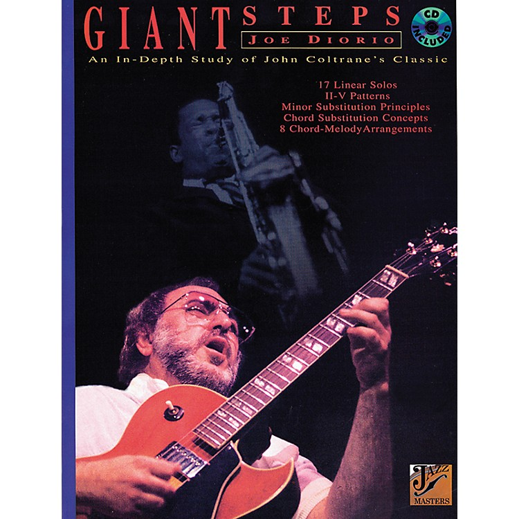 Alfred John Coltrane Giant Steps-Book/CD