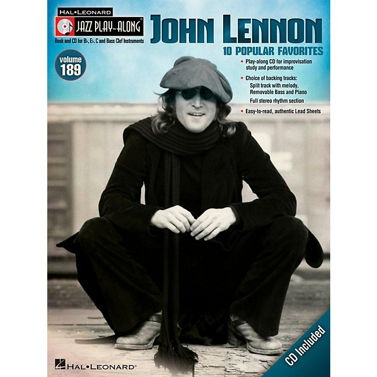 Hal LeonardJohn Lennon - Jazz Play-Along Volume 189 (Book/CD)