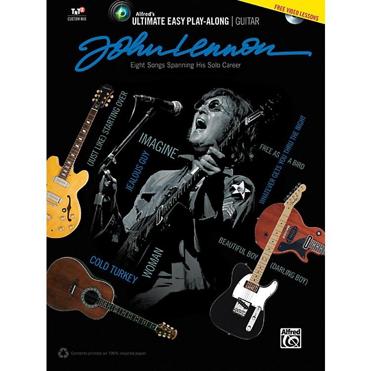 AlfredJohn Lennon - Ultimate Easy Guitar Play-Along Book & DVD