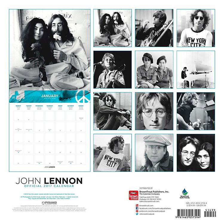 Browntrout PublishingJohn Lennon 2017 Pyramid Calendar