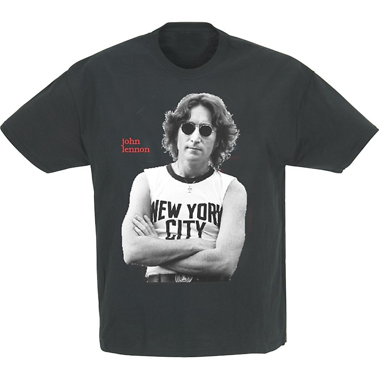 Gear One John Lennon New York Photo T-Shirt